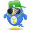 Twitter vogel cool
