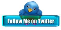 Follow Me on Twitter blauw glossy