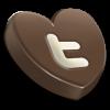 Twitter hart