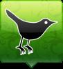 twitter vogel groen